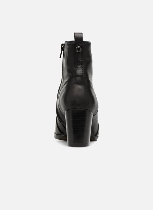 Bottines et boots Georgia Rose Sylvy Soft Noir vue droite