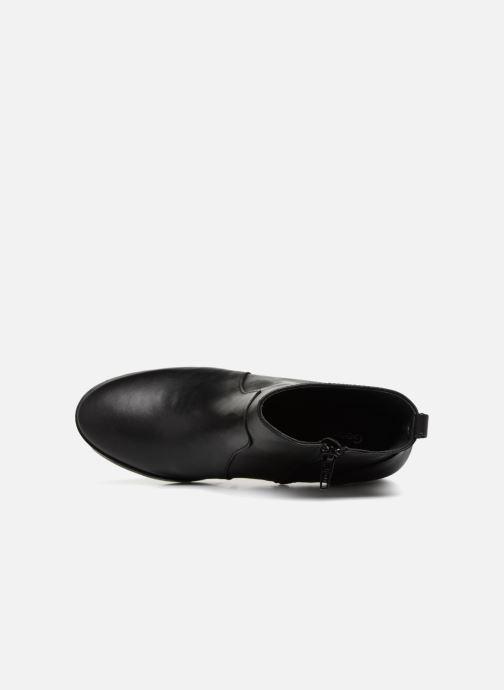 Bottines et boots Georgia Rose Sylvy Soft Noir vue gauche