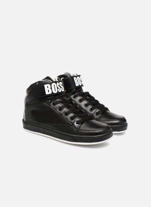 Baskets BOSS Billy Noir vue 3/4