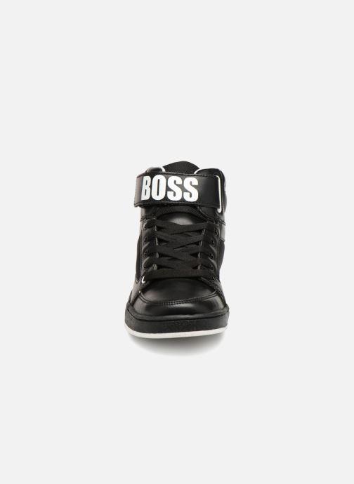 Baskets BOSS Billy Noir vue portées chaussures