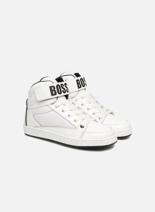 Baskets BOSS Billy Blanc vue 3/4