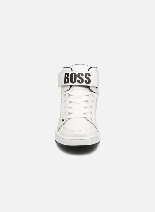 Baskets BOSS Billy Blanc vue portées chaussures