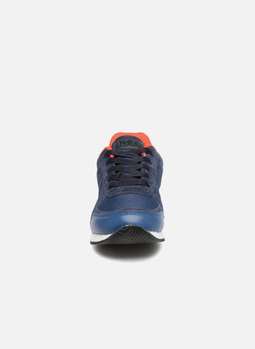 Baskets BOSS Berry Bleu vue portées chaussures