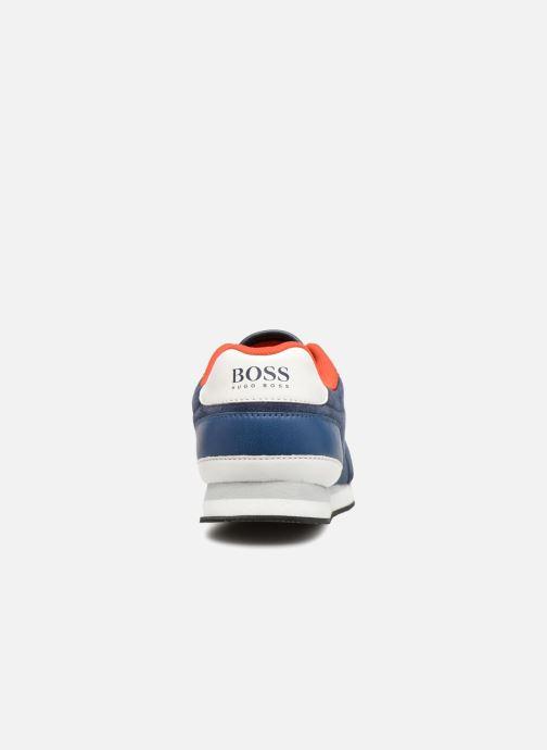 Baskets BOSS Berry Bleu vue droite