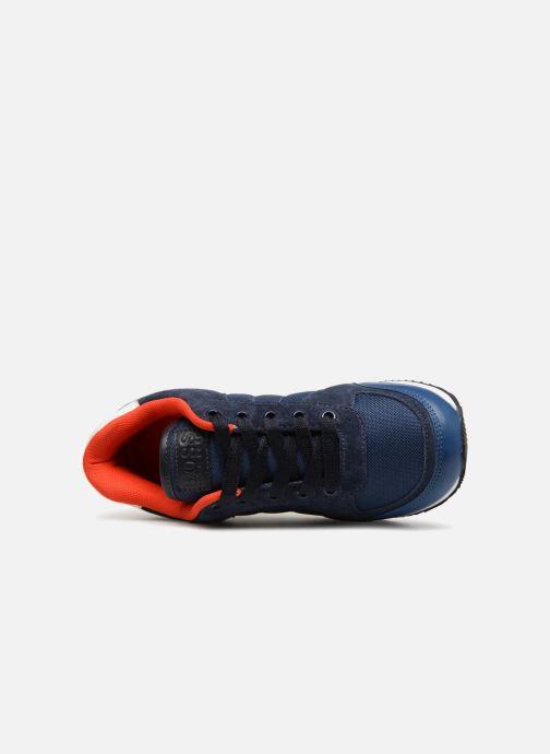 Baskets BOSS Berry Bleu vue gauche