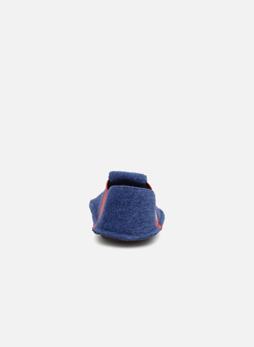 Chaussons Crocs Classic Slipper K Bleu vue droite