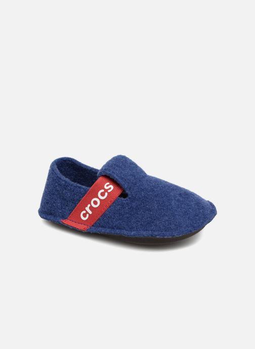 Chaussons Crocs Classic Slipper K Bleu vue détail/paire