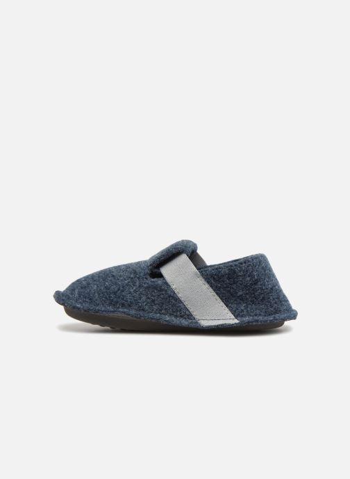 Pantofole Crocs Classic Slipper K Grigio immagine frontale