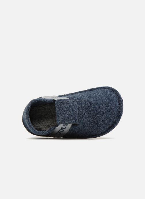 Chaussons Crocs Classic Slipper K Gris vue gauche