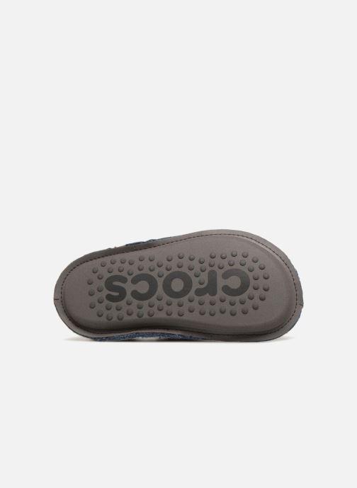 Chaussons Crocs Classic Slipper K Gris vue haut