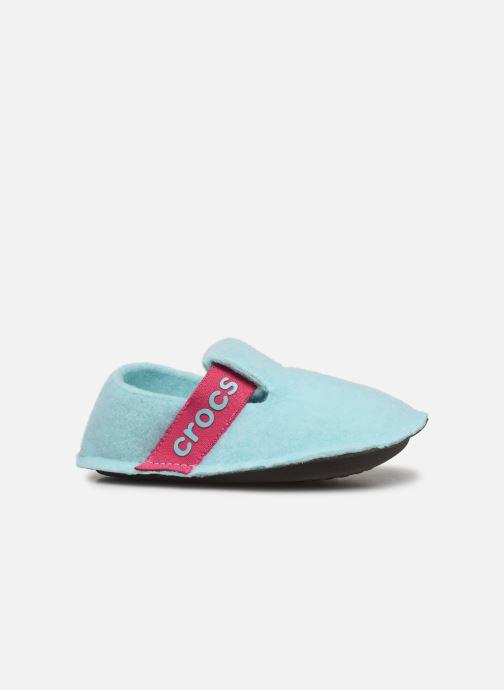 Hausschuhe Crocs Classic Slipper K blau ansicht von hinten