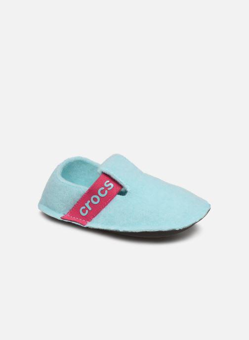 Hausschuhe Crocs Classic Slipper K blau detaillierte ansicht/modell
