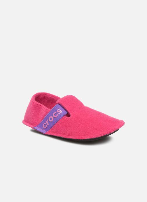 Pantuflas Crocs Classic Slipper K Rosa vista de detalle / par