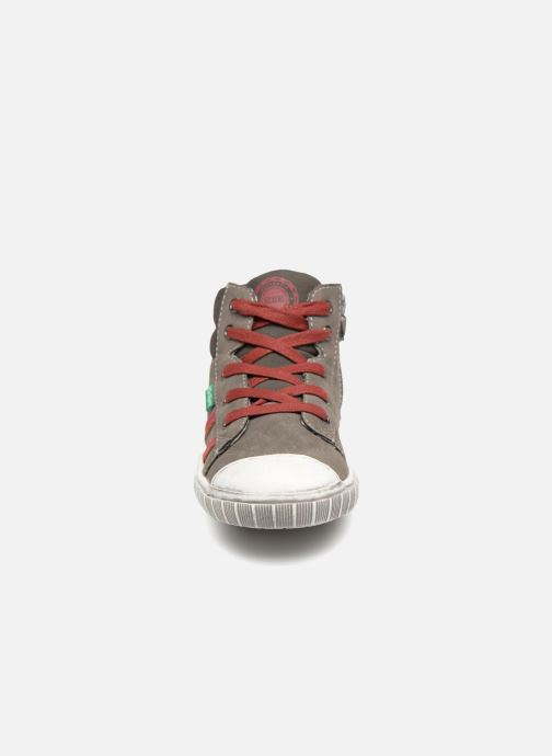 Sneakers Kickers Bumpy Grå bild av skorna på