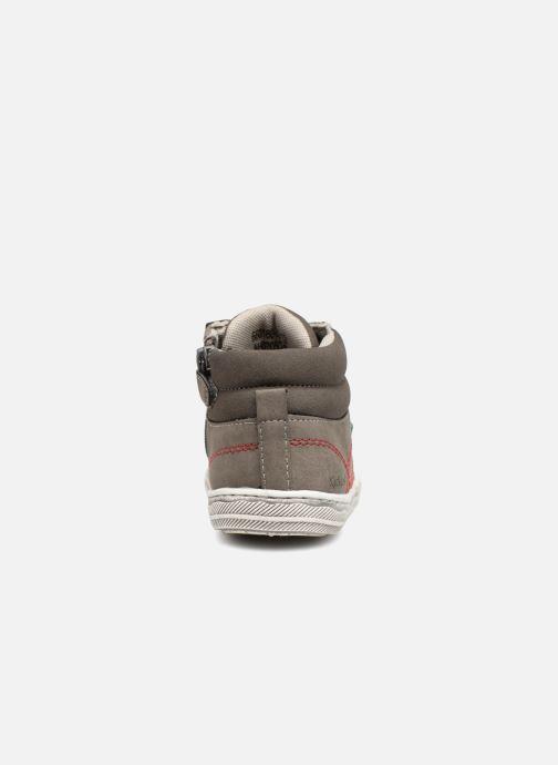 Sneakers Kickers Bumpy Grå Bild från höger sidan