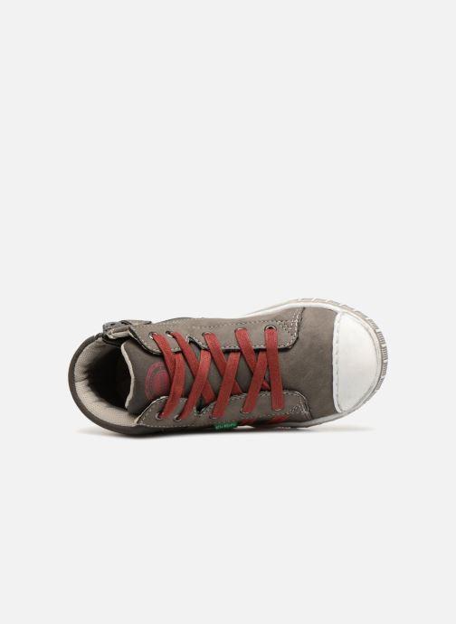 Sneakers Kickers Bumpy Grå bild från vänster sidan