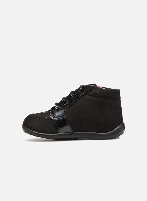 Bottines et boots Kickers Boustar Noir vue face