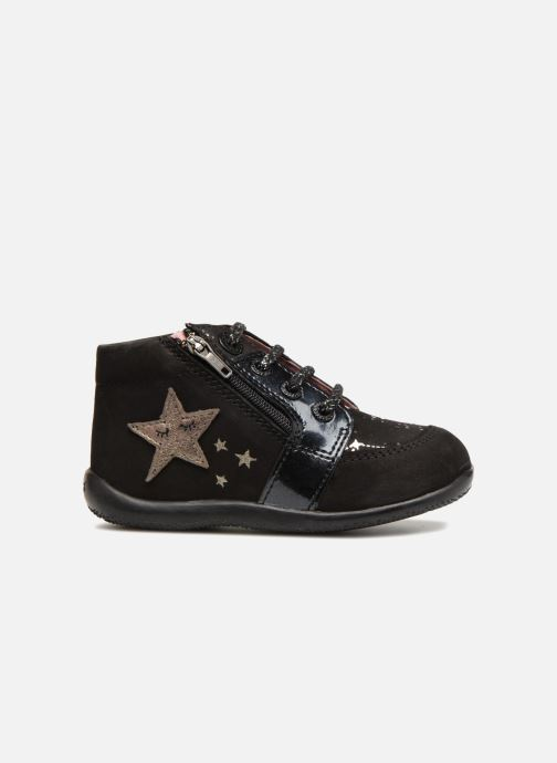Boots en enkellaarsjes Kickers Boustar Zwart achterkant