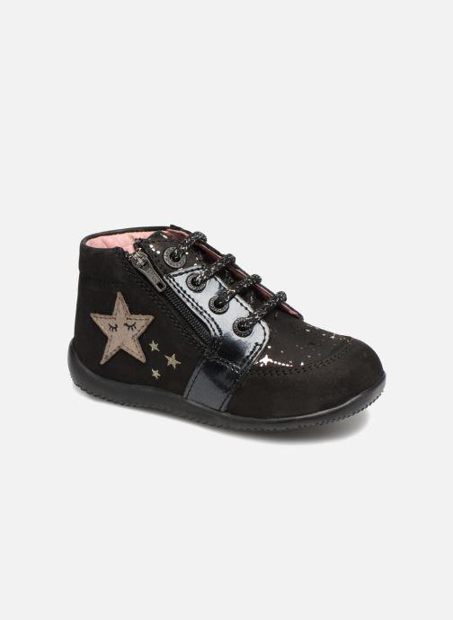 Bottines et boots Kickers Boustar Noir vue détail/paire