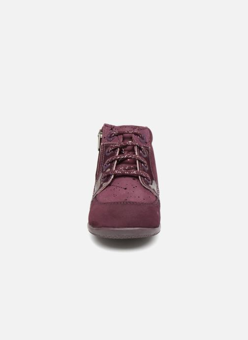 Bottines et boots Kickers Boustar Bordeaux vue portées chaussures