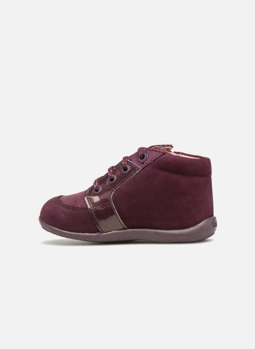 Boots en enkellaarsjes Kickers Boustar Bordeaux voorkant