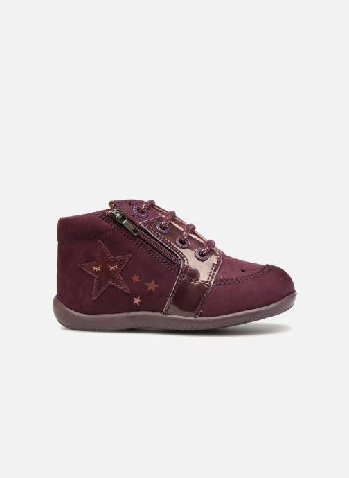 Boots en enkellaarsjes Kickers Boustar Bordeaux achterkant
