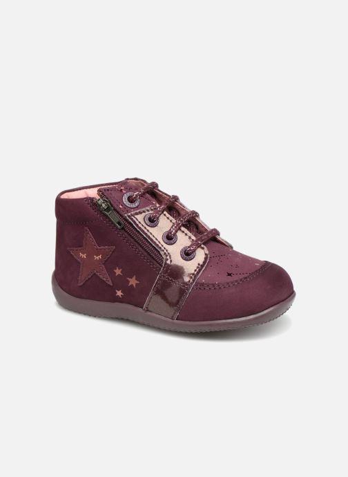 Boots en enkellaarsjes Kickers Boustar Bordeaux detail