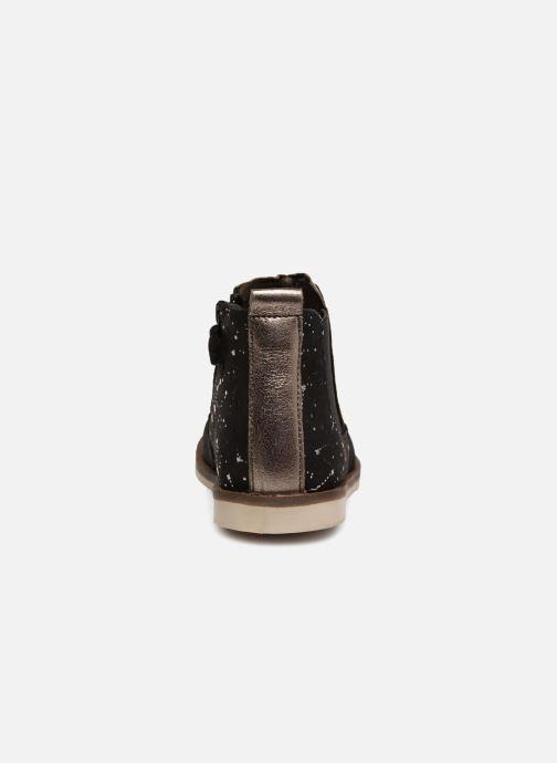Boots en enkellaarsjes Kickers Moon 2 Zwart rechts