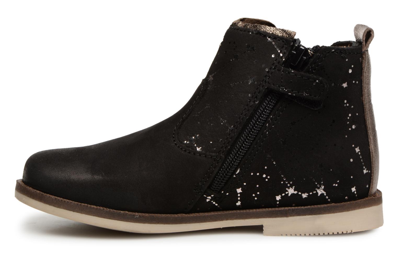 Stiefeletten & Boots Kickers Moon 2 schwarz ansicht von vorne