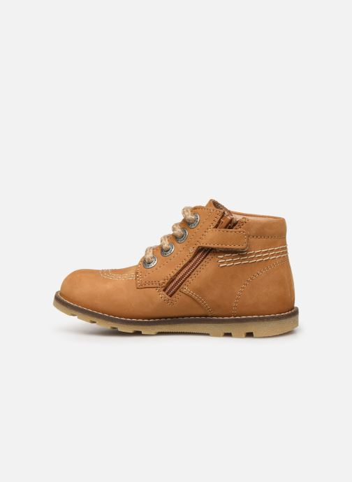 Boots en enkellaarsjes Kickers Nonoklick Geel voorkant