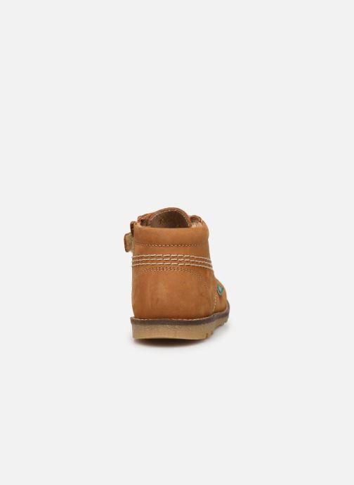 Boots en enkellaarsjes Kickers Nonoklick Geel rechts
