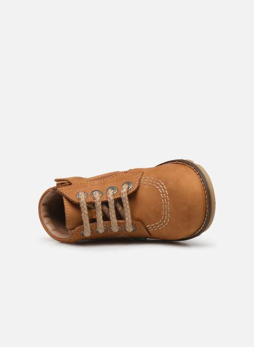 Bottines et boots Kickers Nonoklick Jaune vue gauche