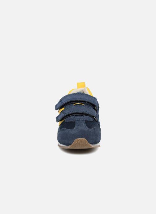 Baskets Kickers Carillon BB Bleu vue portées chaussures