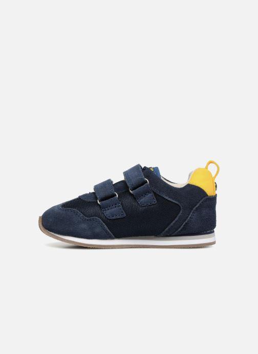 Sneakers Kickers Carillon BB Azzurro immagine frontale