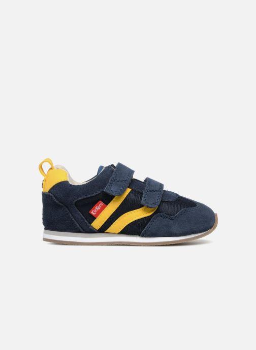 Sneakers Kickers Carillon BB Azzurro immagine posteriore