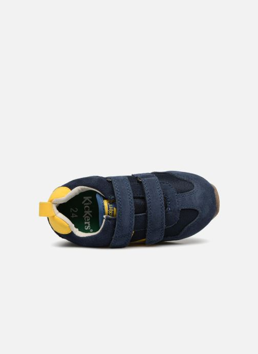 Sneakers Kickers Carillon BB Blauw links
