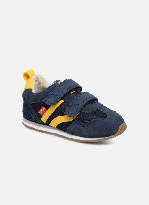 Sneakers Kickers Carillon BB Blauw detail