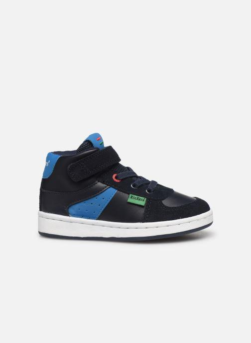 Sneakers Kickers Bilbon BB Mid Blauw achterkant