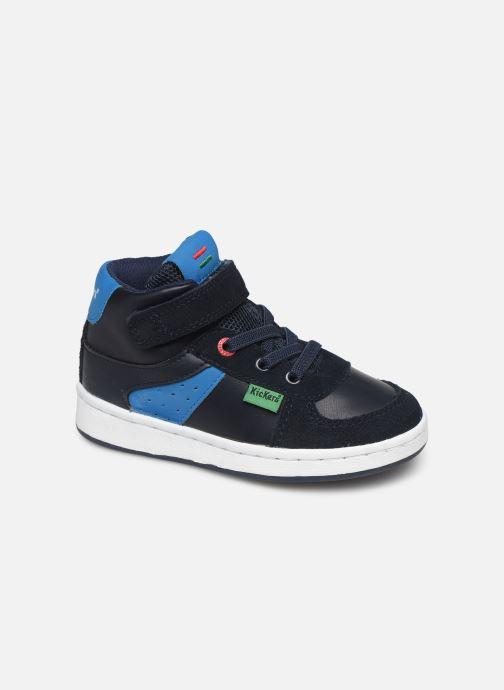 Sneakers Kickers Bilbon BB Mid Blauw detail