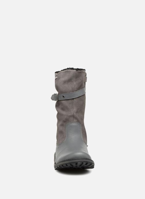 Bottes Kickers Winterboot Wpf Gris vue portées chaussures