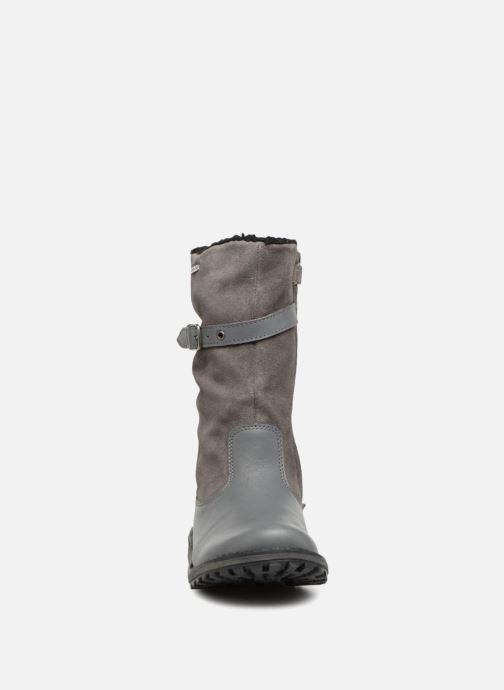 Bottes Kickers Winterboot Wpf Gris vue portées chaussures