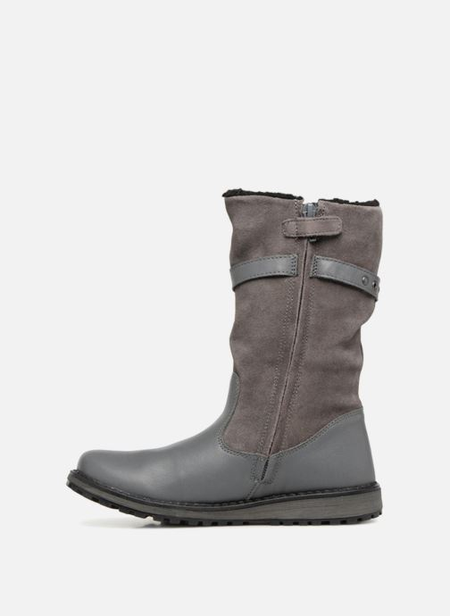 Bottes Kickers Winterboot Wpf Gris vue face