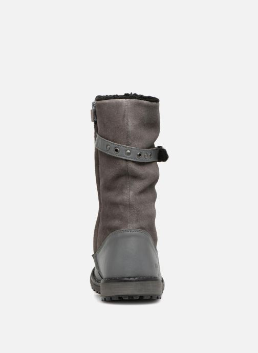 Bottes Kickers Winterboot Wpf Gris vue droite
