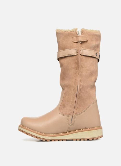 Bottes Kickers Winterboot Wpf Beige vue face