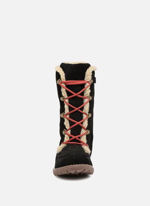 Bottes Kickers Uzik Noir vue portées chaussures
