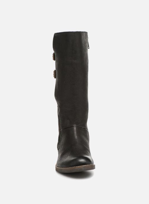 Bottes Kickers Smadness Noir vue portées chaussures