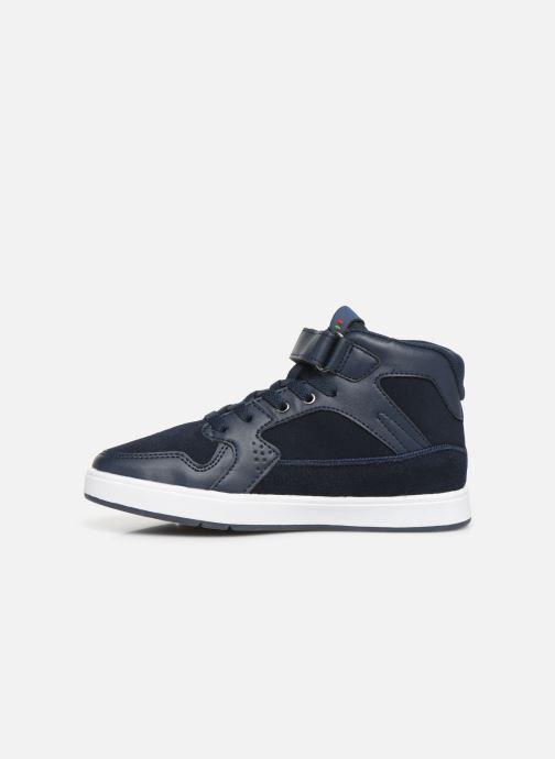 Sneakers Kickers Gready Mid Cdt Blauw voorkant