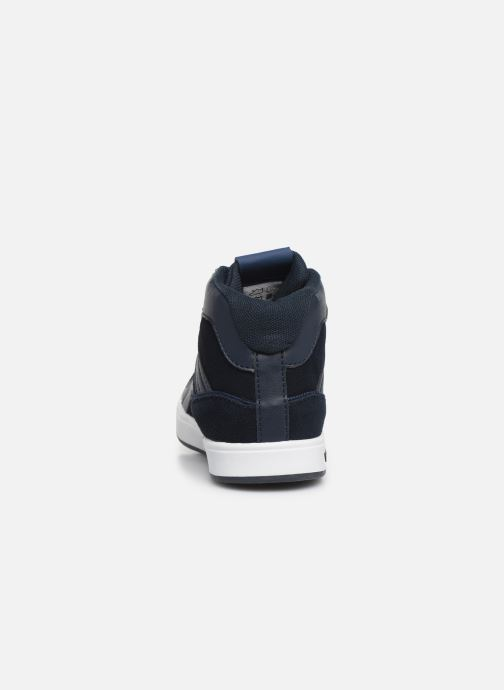 Sneakers Kickers Gready Mid Cdt Blauw rechts