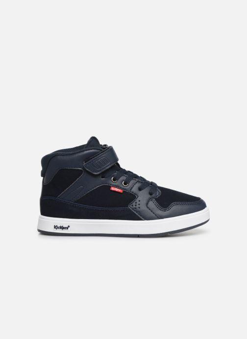 Sneakers Kickers Gready Mid Cdt Blauw achterkant