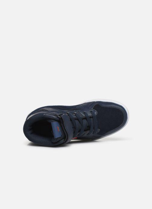 Sneakers Kickers Gready Mid Cdt Blauw links